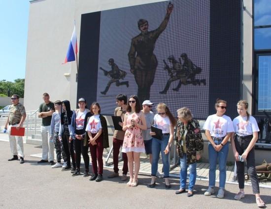 В Севастополе прошла эстафета «Остаться в живых»