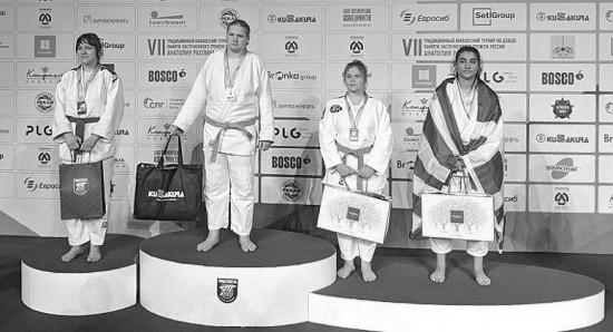 Севастопольская дзюдоистка заняла первое место на международном турнире в Санкт-Петербурге