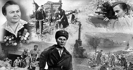 защитницы Севастополя
