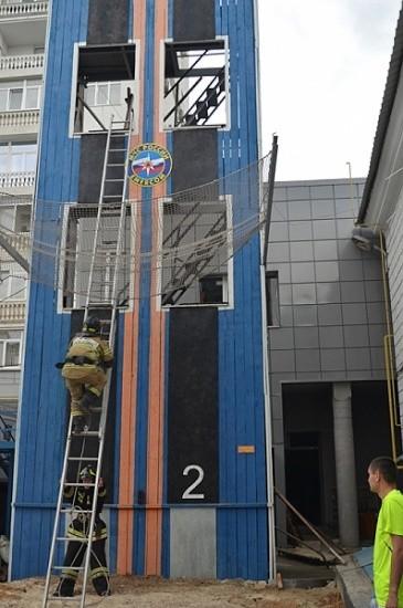 учения пожарных Севастополь