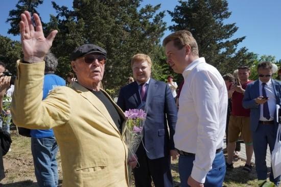 аллея звезд в Севастополе