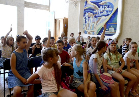 Для школьников в Севастополе прошел историко-патриотический квест