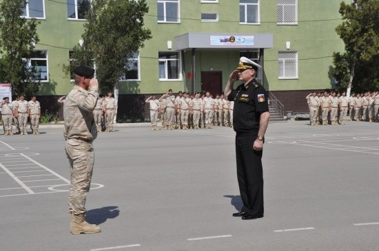 У морпехов в Севастополе стартовал летний период обучения