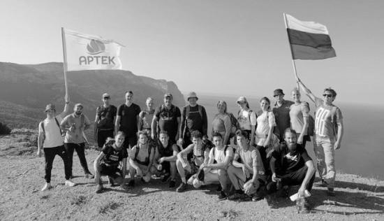 Артековцы отправились в экспедицию по Большой Cевастопольской тропе