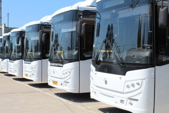 В Севастополе новые автобусы вышли на маршруты