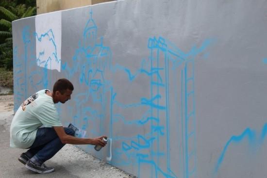 В Севастополе впервые стартовал чемпионат по граффити