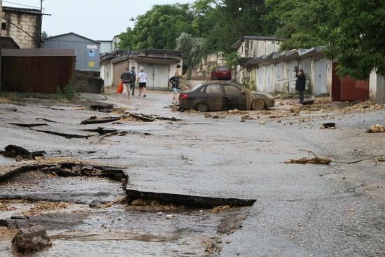 наводнение в Крыму