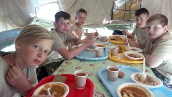 Севастопольцы побывали в военно-историческом лагере «Бородино»