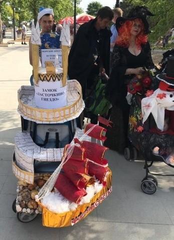 «Парад колясок» в Севастополе внесли в Книгу рекордов России