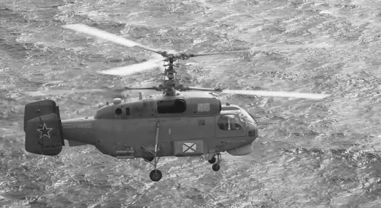 В Средиземном море экипаж вертолёта Ка-27ПЛ провёл плановые полеты