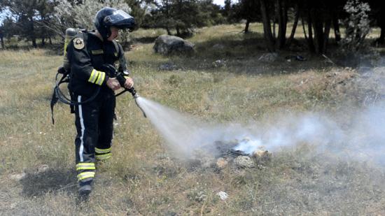 Мотопатрули МЧС следят за пожарной безопасностью в лесах Севастополя