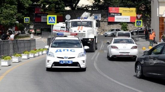 В Севастополе обезвредили бомбу, найденную в центре города