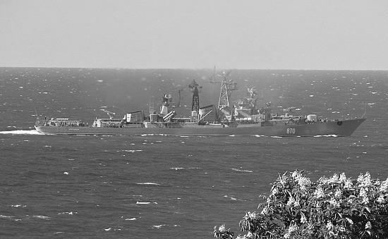 В Севастополе начались тренировки показа возможностей корабельных сил флота