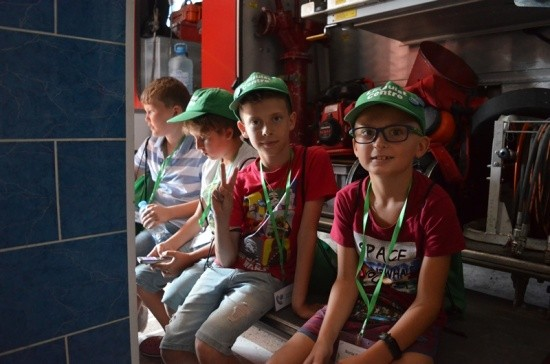 Севастопольские спасатели продолжают проводить экскурсии детям