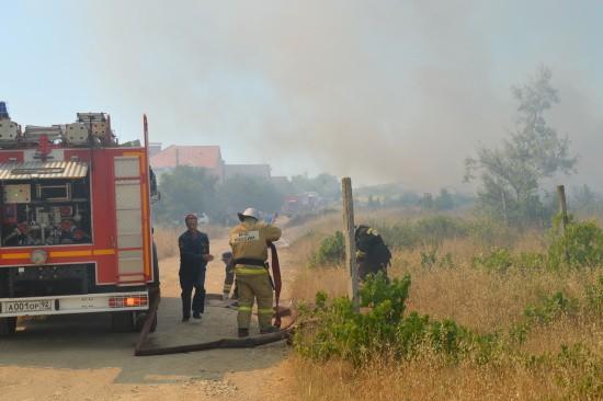 пожарные Севастополя