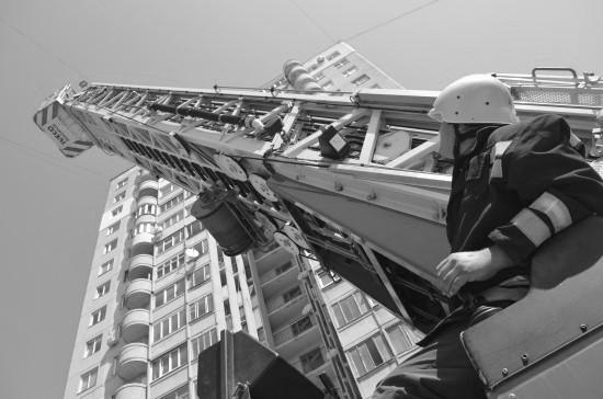 В Севастополе состоялись учения МЧС в здании повышенной этажности