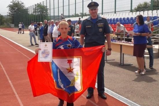 Севастопольские школьники достойно выступили в соревнованиях «Школа безопасности»