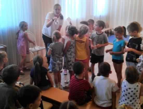 Дошкольники Севастополя знакомятся с правилами безопасного поведения на природе