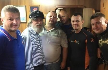 Водолазы МЧС, учёные и Фёдор Конюхов исследовали место гибели линкора «Новороссийск»