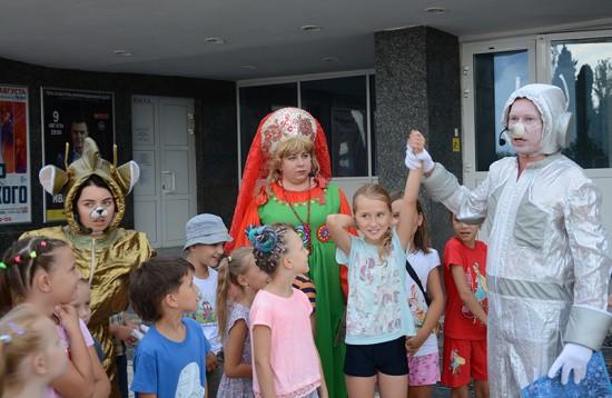 Космическая одиссея для детей Севастополя