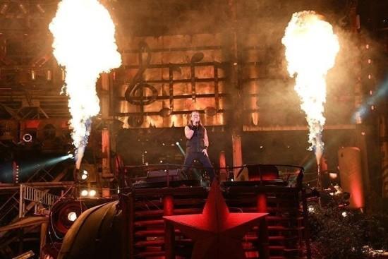 Сотрудники МЧС обеспечили пожарную безопасность на байк-шоу и спектакле «Грифон»