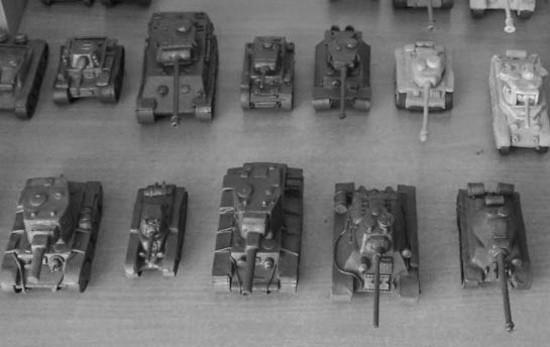 В Севастополе откроется выставка моделей танков из пластилина