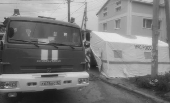 Правительство Севастополя оказывает помощь погорельцам