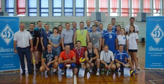 Севастопольские спасатели вновь одержали победу в чемпионате по волейболу среди силовых структур