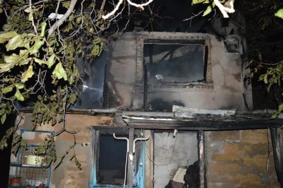 Севастопольские огнеборцы ликвидировали пожар в дачном доме