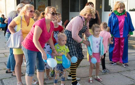 Дворец культуры рыбаков снова организовал детям праздник