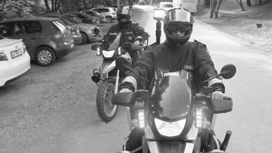 Севастополь патрулируют группы на мотоциклах и квадроциклах МЧС