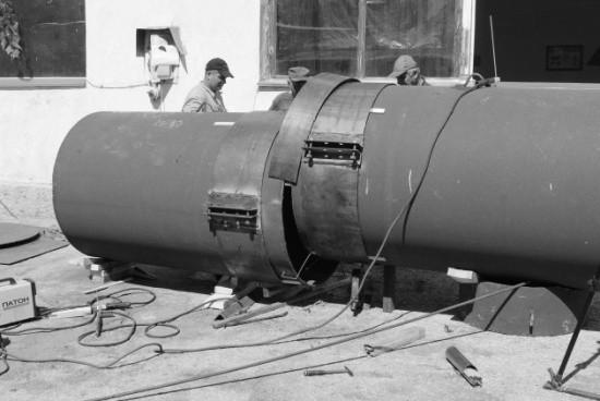 Работы по ремонту коллектора в Голубой бухте закончат в ближайшие дни