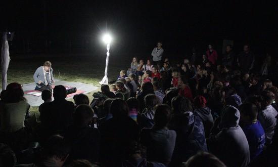 В Севастополе прошла сказка на поляне