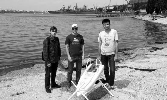 В Севастополе разрабатывают морской беспилотник для создания карты глубин