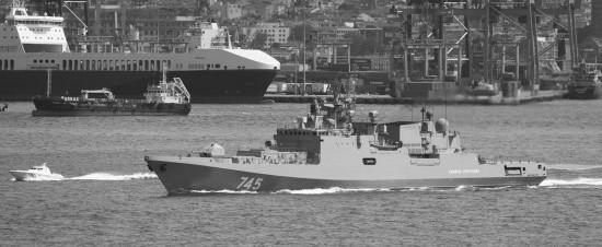 Фрегат «Адмирал Григорович» прошёл пролив Гибралтар и возвращается в Севастополь