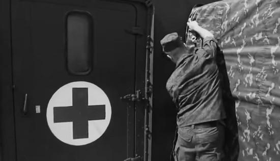 Медики ЧФ развернули полевой госпиталь в рамках учения