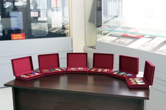 Музею севастопольской полиции передана коллекция медалей СССР
