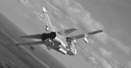 Самолёты разведчики ЧФ обнаружили корабли условного противника в ходе учения