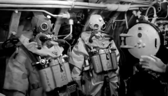 Экипаж подводной лодки «Ростов-на-Дону» провёл тренировки по выходу из торпедного аппарата