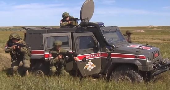В Севастополе военные полицейские выбирают лучших в конкурсе «Страж порядка»
