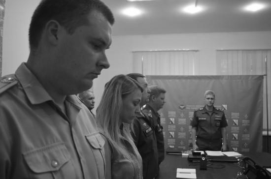 В Севастополе почтили память пиротехника Виталия Седина