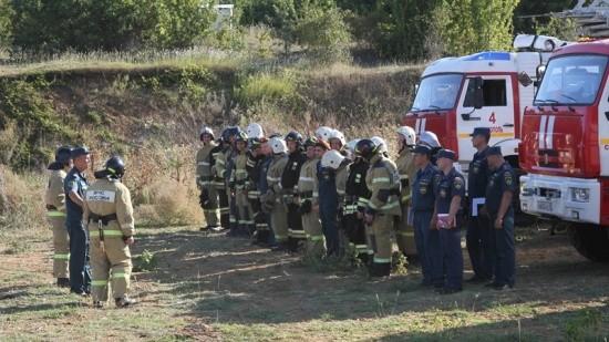 Состоялась внезапная проверка готовности опорного пункта МЧС в Севастополе