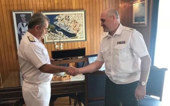 Командующий ЧФ посетил Главный штаб ВМС Греции
