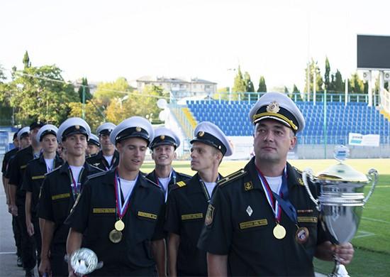 Сборная команда ЮВО победила на чемпионате Вооружённых Сил по футболу