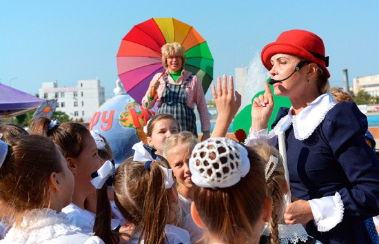 Звонкий праздник сентября во Дворце культуры рыбаков