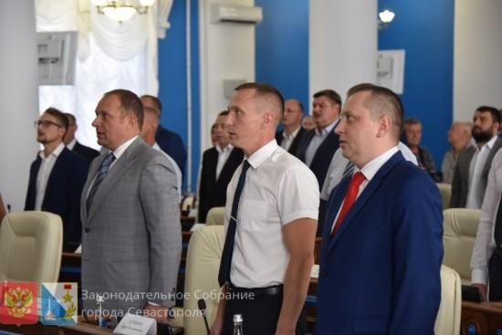 Севастопольские депутаты второго созыва приняли присягу