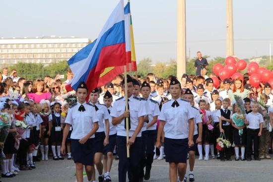 Воспитанники семи кадетских классов Следственного комитета в Крыму сели за парты