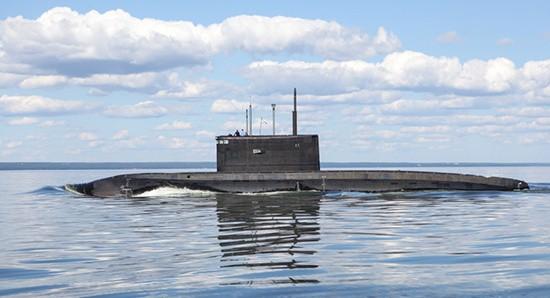 Подводные лодки «Великий Новгород» и «Колпино» провели совместное учение