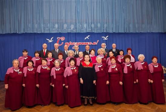 Народный хор ветеранов «Лейся песня»