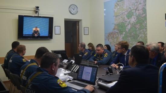 Дан старт Всероссийским учениям по гражданской обороне